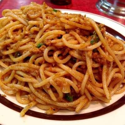Spaghetti Band Gobhi Aur Keema Recipe In Urdu