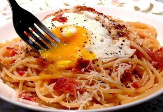 Spaghetti Aur Anday Recipe In Urdu