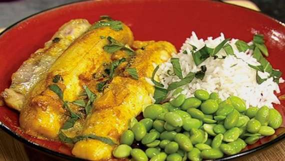 White Fish Red Sauce Recipe In Urdu