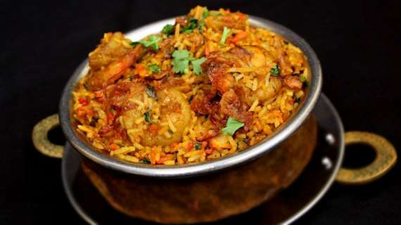 Jhinga Chawal Recipe In Urdu