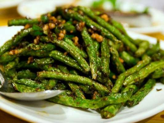Fried Long Beans Recipe In Urdu