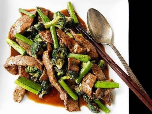 Fried Beef In Oyster Sauce Recipe In Urdu
