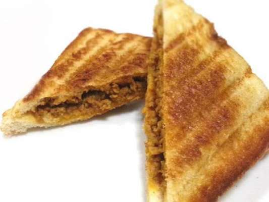Paneer Keema Sandwich Recipe In Urdu