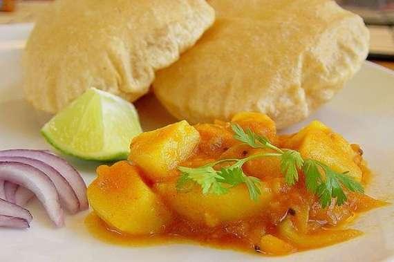 Aloo Keema Poori Recipe In Urdu