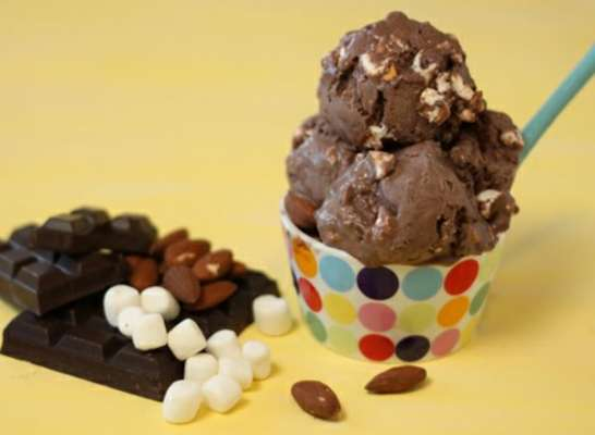 Rocky Road Ice Cream Recipe In Urdu