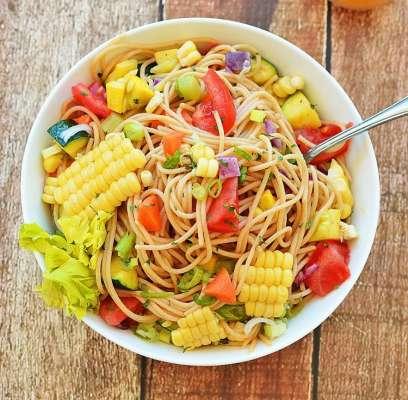 Spaghetti And Corn Recipe In Urdu