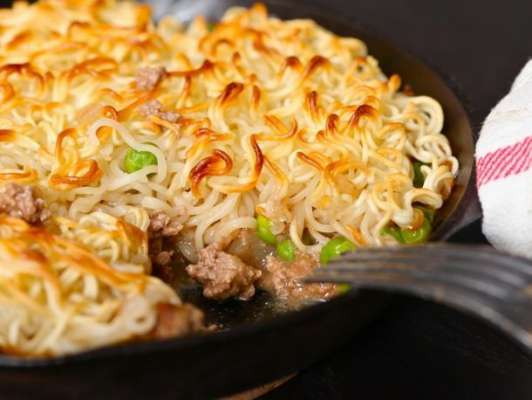 Corn Noodle Pie Recipe In Urdu