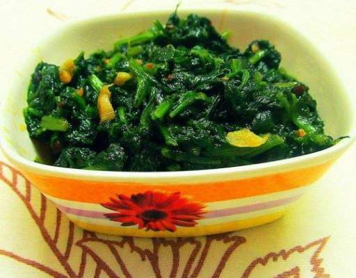 Palak Fry Recipe In Urdu