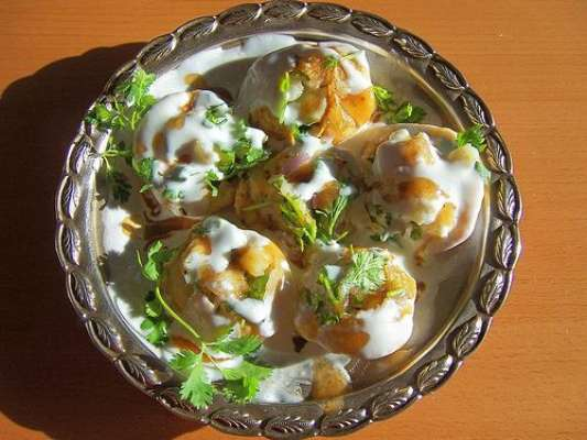 Dahi Poori Recipe In Urdu