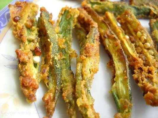 Crispy Bhindi Recipe In Urdu