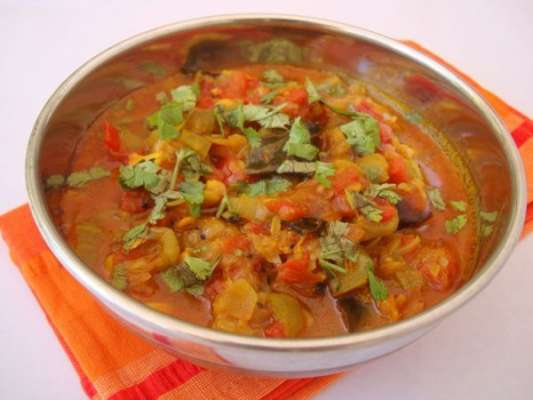 Bhagaray Hue Tamatar Recipe In Urdu