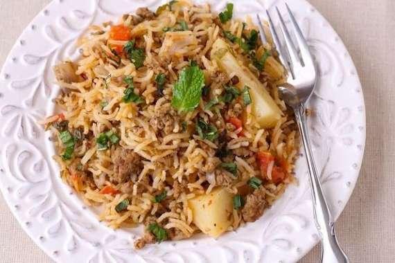 Mutton Keema Pulao Recipe In Urdu