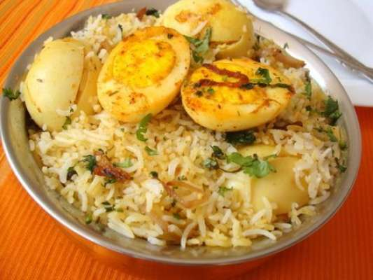 Egg Pulao Recipe In Urdu