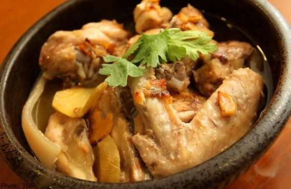 Salty Steam Chicken Recipe In Urdu