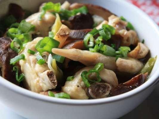 Chicken Steam With Chinese Mushroom Recipe In Urdu