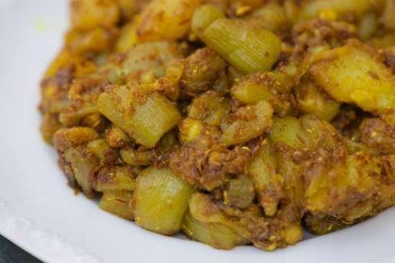 Ghiya Gosht Laziz Recipe In Urdu