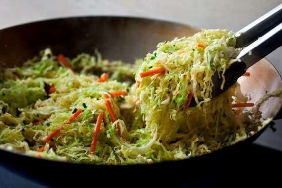Stir Fried Cabbage Recipe In Urdu