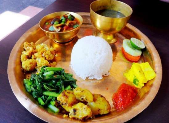 Moong Matar Chana With Achar Recipe In Urdu
