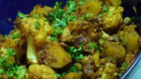 Green Masala Gobhi Recipe In Urdu