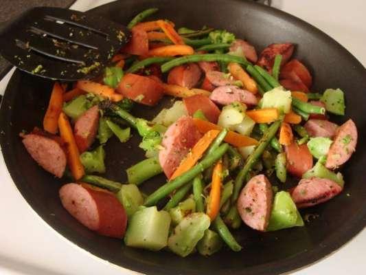 Smoked Vegetables Recipe In Urdu