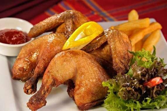 Spring Fried Chicken Recipe In Urdu