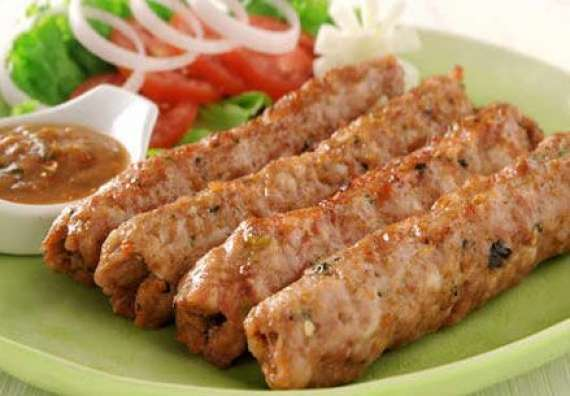 Roli Poli Seekh Kabab Recipe In Urdu