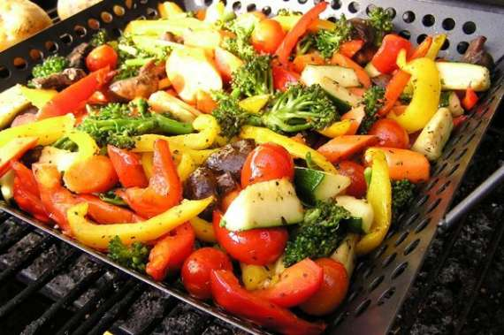 Grilled Paneer With Veggies Recipe In Urdu