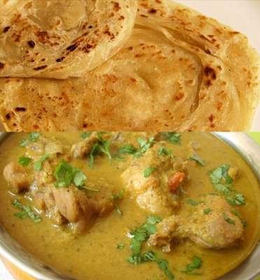 White Korma With Paratha Recipe In Urdu