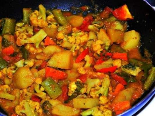 Mixed Sabziyan Recipe In Urdu
