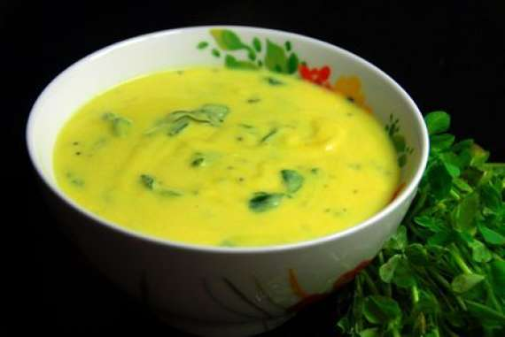Methi Kadhi  Recipe In Urdu