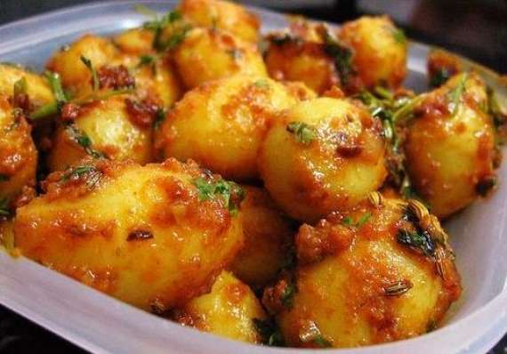 Dum Aloo Masalay Dar Recipe In Urdu