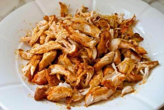 Shredded Chicken Recipe In Urdu