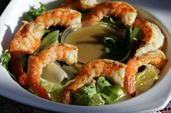 Shrimps Orange Mustard Recipe In Urdu