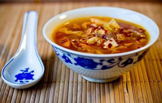 Hot And Sour Soup Recipe In Urdu