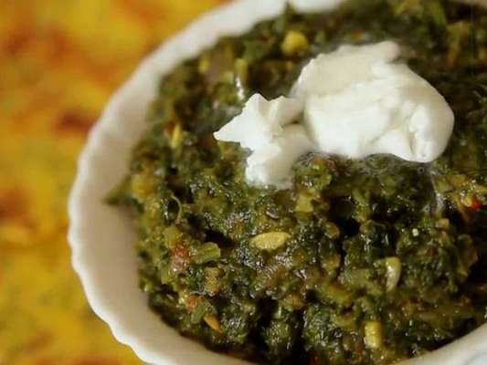 Saag Sarson Ka  Recipe In Urdu
