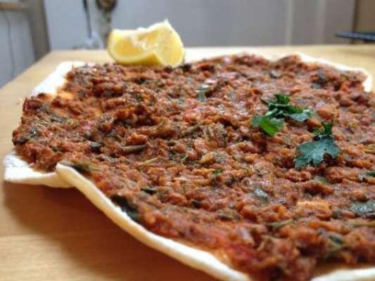 Lahmajoun Recipe In Urdu
