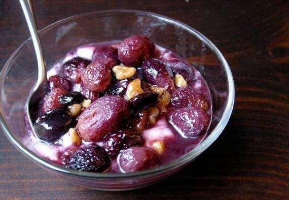 Grapes Pudding Recipe In Urdu