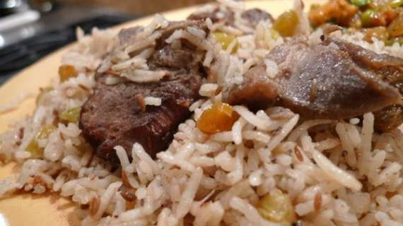 Khata Gosht Pulao Recipe In Urdu
