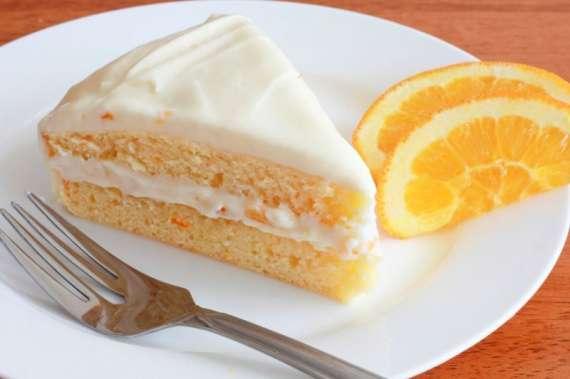 Orange Cream Cake Recipe In Urdu