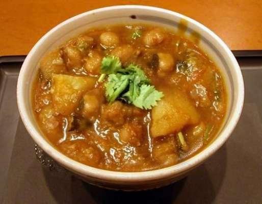 Aloo Chole Recipe In Urdu