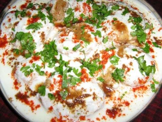 Lazeez Dahi Chaat Recipe In Urdu
