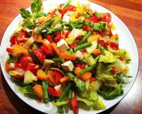 Phalon Aur Sabziyon Ka Salad Recipe In Urdu