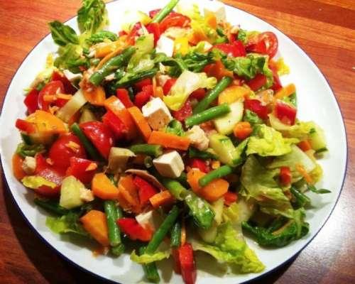 Fruit And Vegetable Salad Recipe In Urdu