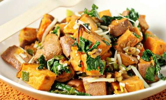 Roast Aloo Ka Salad Recipe In Urdu