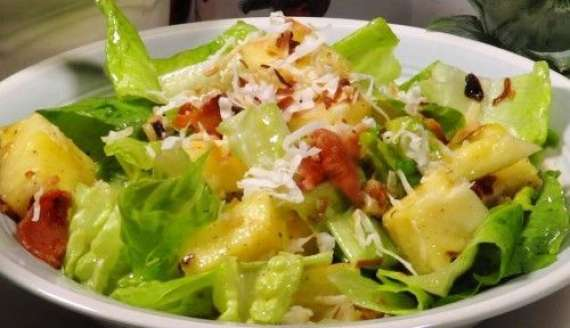 Ananas Aur Salad Kay Patton Ka Salad Recipe In Urdu
