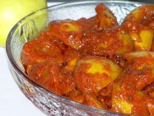 Achar Galgal Recipe In Urdu