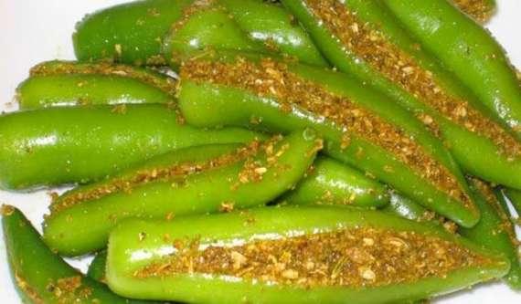 Achar Hari Mirch Recipe In Urdu