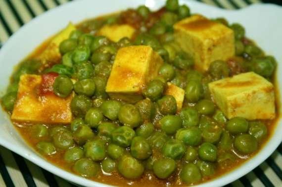 Taza Matar Paneer Recipe In Urdu