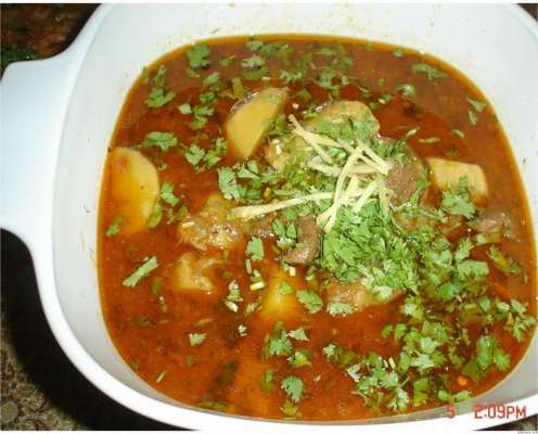 Aloo Matar Shorba Recipe In Urdu