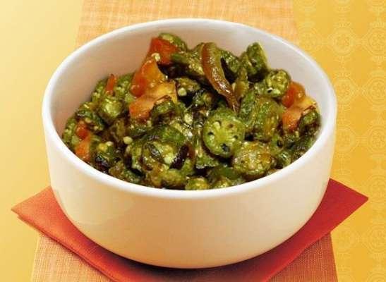 Achar Bhindi Recipe In Urdu